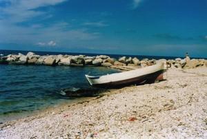 una spiaggia abruzzese