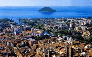 veduta panoramica di Albenga