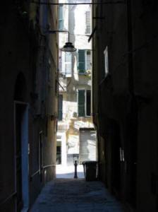 """i """"carruggi"""" nel centro storico di Genova"""