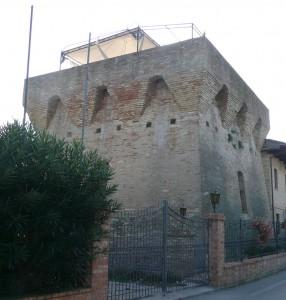 la storica torre di Alba Adriatica