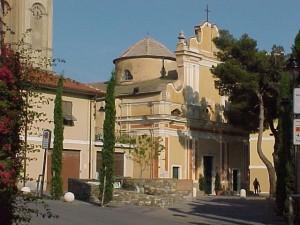 la chiesa di Santa Maria Maddalena a San Lorenzo al Mare