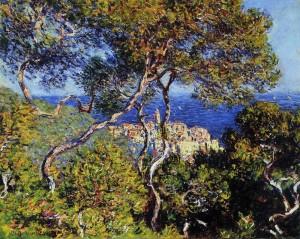 """""""Bordighera"""" 1884 - olio su tela di Claude Monet"""