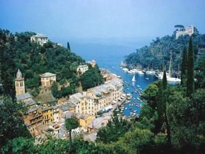 la baia di Portofino