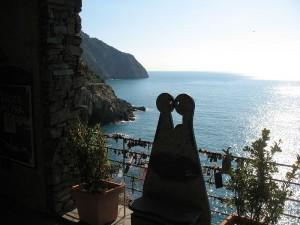 il sentiero dell'amore a Riomaggiore