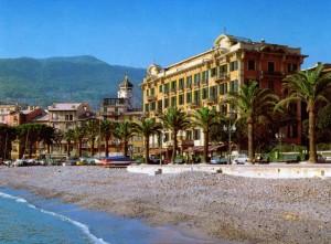 abitazioni d'epoca sulla spiaggia di Santa Margherita Ligure