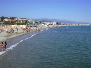 la spiaggia di Savona