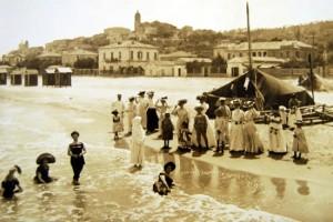 una foto d'epoca di Francavilla al Mare