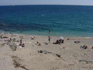 una spiaggia di San Bartolomeo al mare