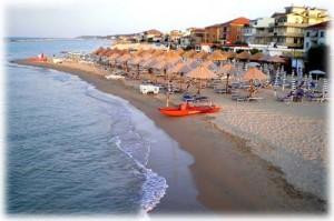 uno stabilimento balneare a Francavilla al Mare