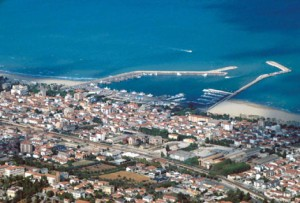veduta aerea di Giulianova
