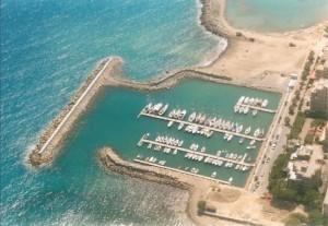veduta aerea di San Bartolomeo al mare